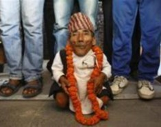 Nepali Villager New World's Shortest Man