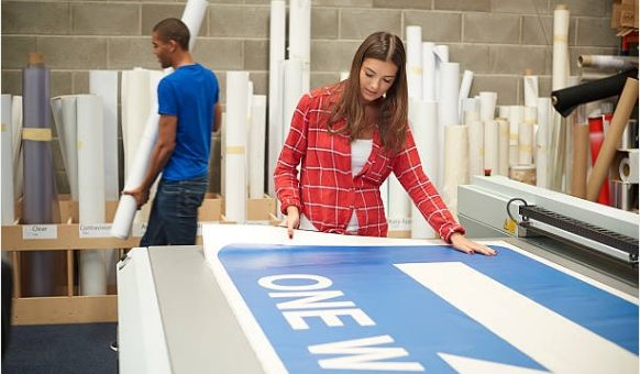 Things to consider when printing a sign for your business