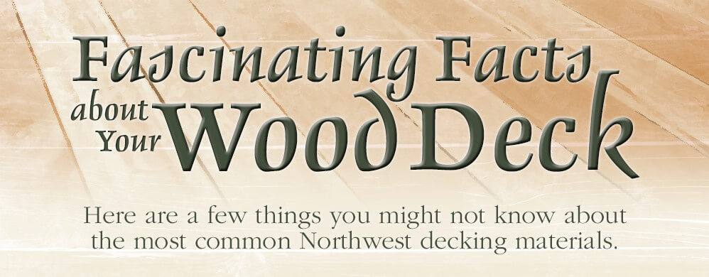 noid facts about wood deck