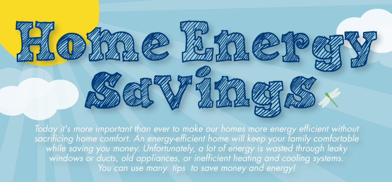 Home Energy Savings Infographic